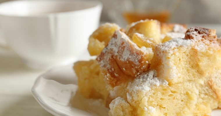 Easy Old-Fashioned Bread Pudding Recipe Without Raisins