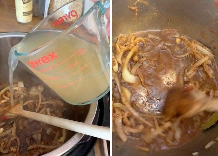 deglazing instant pot birria tacos recipe