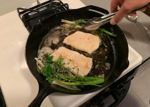 set herbs to the side rockfish recipe