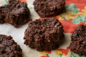no bake cookie recipe without peanut butter