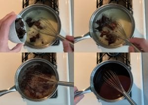 adding chocolate to no bake cookie recipe without peanut butter