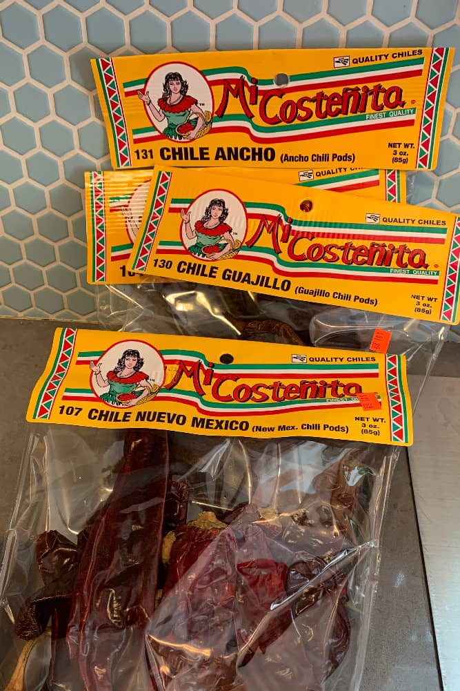 dried chilies for birria tacos recipe in instant pot