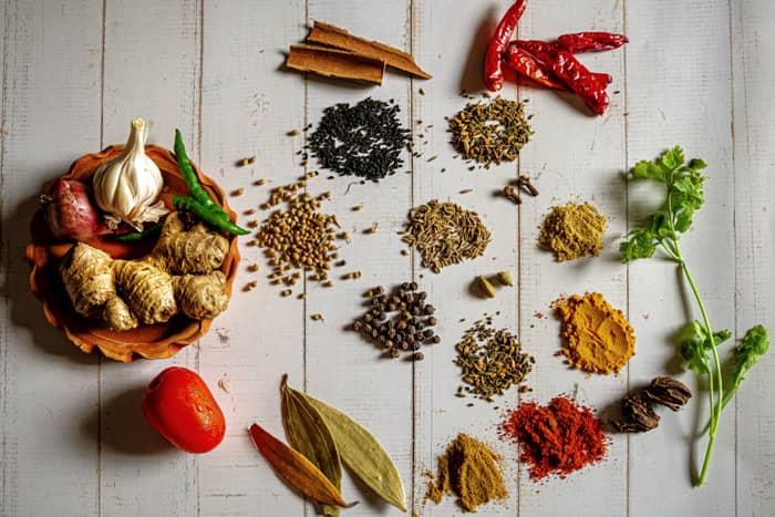 Pakistani salan spices